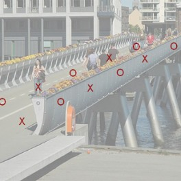 Øyvind Brandtsegg / Installation for a pedestrian bridge