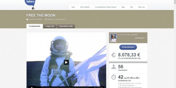 Lena Skrabs – Screenshot Crowdfunding Campaign