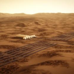 Mars One – Solar Panel