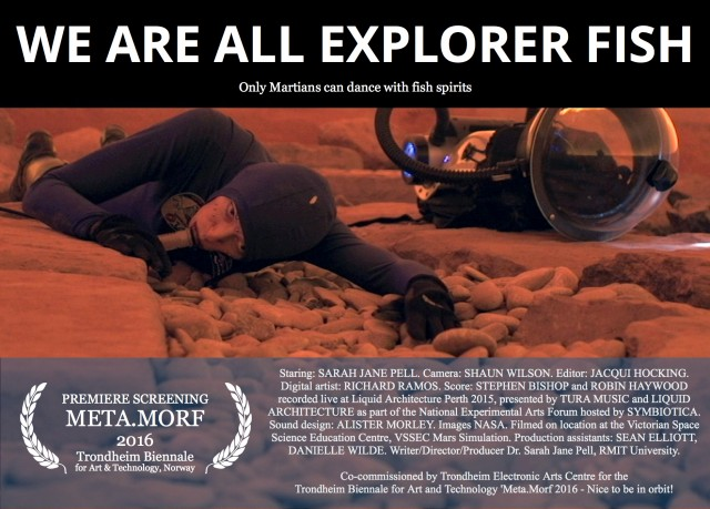 Sarah Jane Pell – We are all explorer fish
