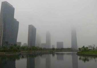 Songdo in South Korea. Photo: Orit Halpern.