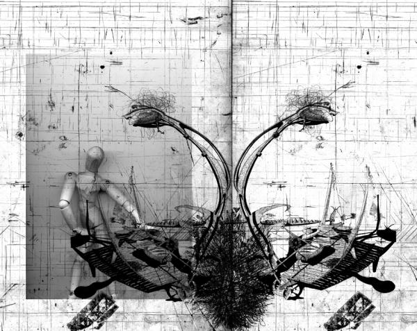 Neil Spiller / Hommage a Courbet